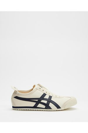 Onitsuka Tiger Mexico 66 Slip On Unisex - Sneakers (Birch / Midnight) Mexico 66 Slip-On - Unisex