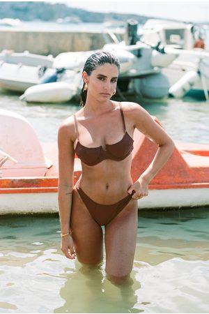 PRETTYLITTLETHING Bikinis - Deep Mix & Match Mini Front Bikini Bottoms