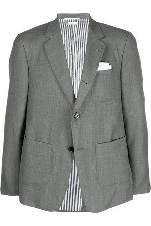 Thom Browne Men Blazers - Super 120s wool blazer