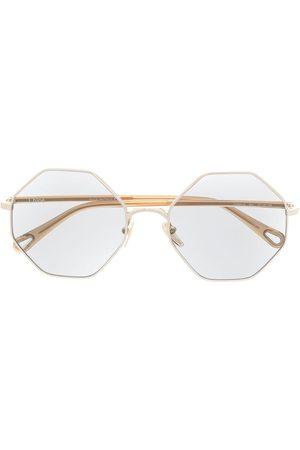 Chloé CH0041S geometric-frame sunglasses