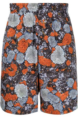 MCQ Albion abstract print track shorts
