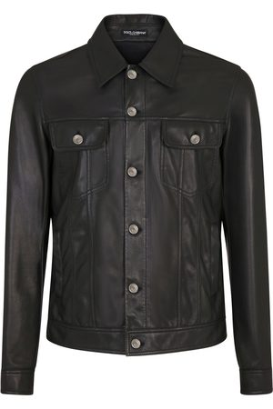 Dolce & Gabbana Polished-finish long-sleeve jacket