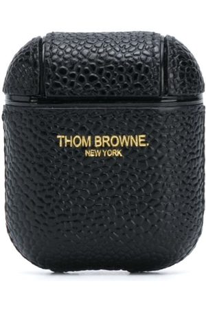 Thom Browne Men Phone Cases - Leather AirPod case
