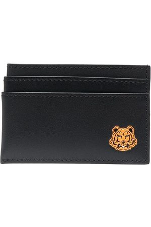 Kenzo Tiger patch cardholder