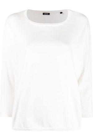 Aspesi Women Sweatshirts - Boat-neck sweatshirt