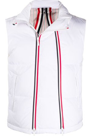 Thom Browne Men Winter Jackets - Goose down padded gilet