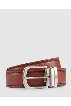 Aquila Men Belts - Colton Belt - Belts (Cognac) Colton Belt