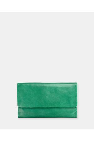 Status Anxiety Audrey Wallet - Wallets (Emerald) Audrey Wallet