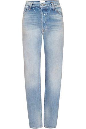 Frame Le Pixie Slouch Straight-Leg Jeans