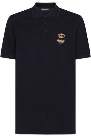 Dolce & Gabbana Men Polo Shirts - Embroidered polo shirt