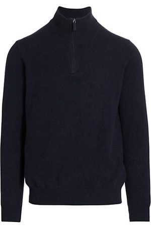 Saks Fifth Avenue COLLECTION Cashmere Half-Zip Sweater