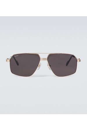 Cartier Eyewear Collection Metal aviator sunglasses