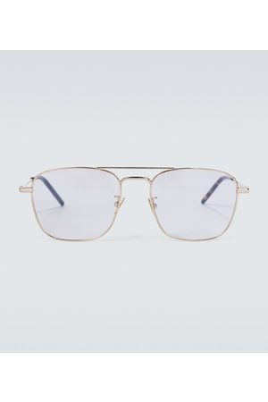 Saint Laurent Metal aviator glasses