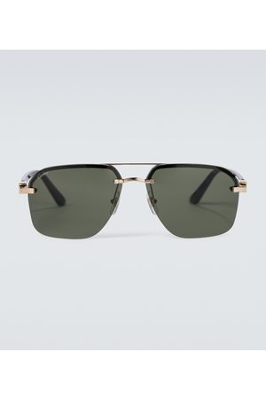 Cartier Eyewear Collection Frameless aviator sunglasses