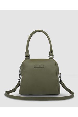 Status Anxiety Last Mountains Handbag - Satchels (Khaki) Last Mountains Handbag