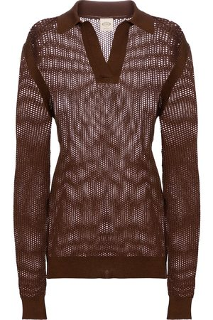 Tod's Open-knit cotton sweater