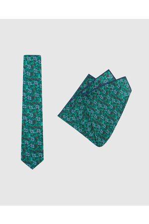 Buckle Jocelyn Proust Tie & Pocket Square Set - Ties (Navy/ ) Jocelyn Proust - Tie & Pocket Square Set