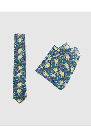 Buckle Ali Wilkinson Tie & Pocket Square Set - Ties Ali Wilkinson - Tie & Pocket Square Set