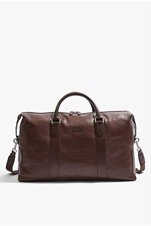 COUNTRY ROAD Leather Weekender - Chocolate