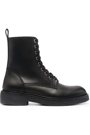 AMIRI Men Boots - Leather lace-up boots