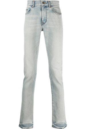 Saint Laurent Men Straight - Faded-effect straight jeans