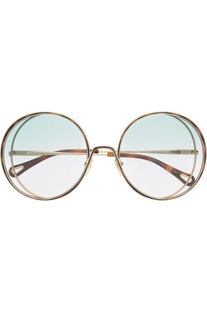 Chloé Women Sunglasses - Oversize round-frame sunglasses