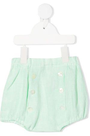 Siola Button-up linen shorts