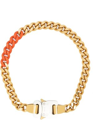 1017 ALYX 9SM Curb chain buckle necklace