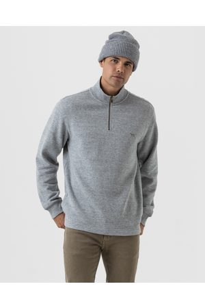Rodd & Gunn Men Sweatshirts - Alton Ave Sweater - Sweats (Fog) Alton Ave Sweater