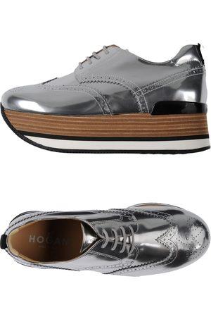 Hogan Women Wedges - Lace-up shoes