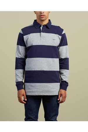 R.M.Williams Men Polo Shirts - Tweedale Rugby Shirt - Shirts & Polos (Navy & ) Tweedale Rugby Shirt