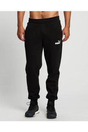 Puma Men Joggers - Essential Logo Fleece Pants - Sweatpants Essential Logo Fleece Pants