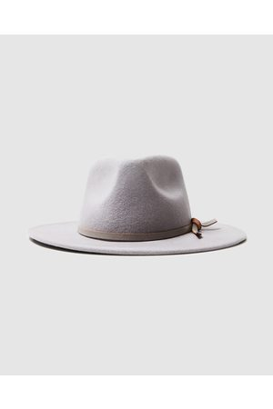 Arvust Men Hats - Howard Wool Fedora Stone