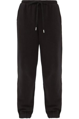 The Upside Major Logo-embroidered Cotton-jersey Track Pants - Womens