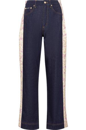 Dolce & Gabbana High-rise straight jeans