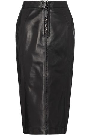 Tom Ford Women Pencil Skirts - Leather pencil skirt