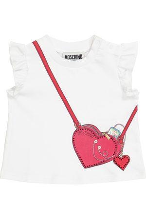 Moschino T-shirts - Baby stretch-cotton T-shirt