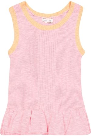 MORLEY Girls Tops - North cotton-blend knit top