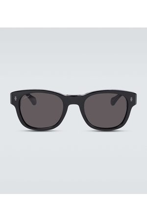 CARTIER EYEWEAR Square-frame acetate sunglasses
