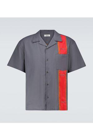 ADISH Men Short sleeves - Woodblock short-sleeved shirt