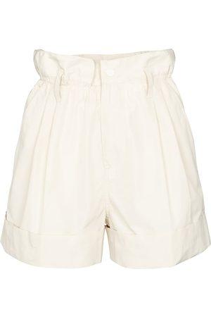 Moncler Faille paperbag shorts