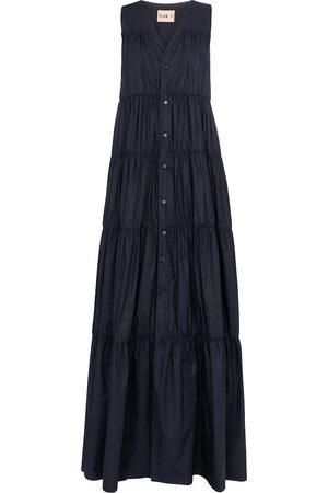 Plan C Women Maxi Dresses - Sleeveless cotton maxi dress