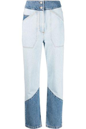 Bash Women High Waisted - Apolo high-waisted patchwork jeans