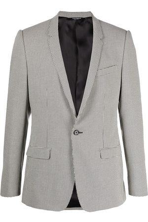 Dolce & Gabbana Houndstooth print blazer