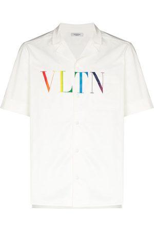 VALENTINO Men Short Sleeve - VLTN logo print T-shirt