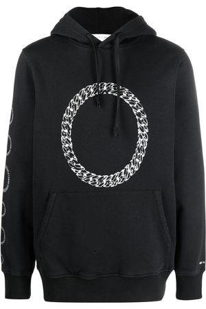 1017 ALYX 9SM Men Hoodies - Chain-link print hoodie