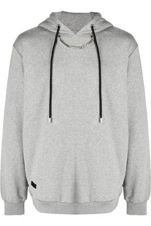 Philipp Plein Men Hoodies - Chain-link hoodie