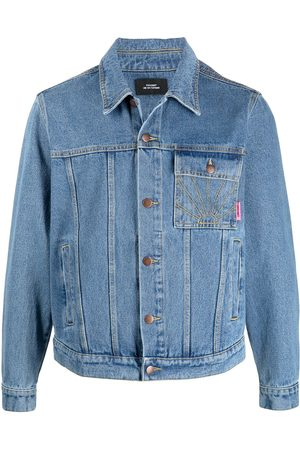 PACCBET Men Denim Jackets - Rassvet-embroidered denim jacket