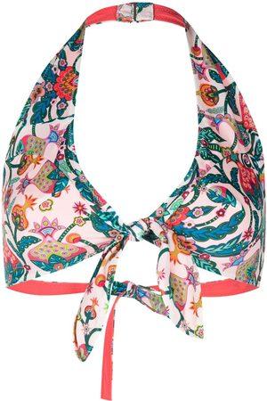 La DoubleJ Halterneck bikini top