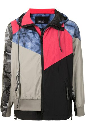 MOSTLY HEARD RARELY SEEN Men Outdoor Jackets - Every Which Way patchwork track jacket